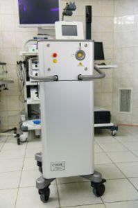 Лазерен литотриптер